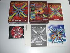 X-com Apocalipsis PC CD ROM Original Caja Grande-Fast Secure Post