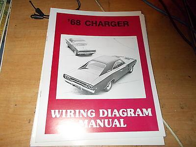 1968 Dodge Charger Wiring Diagram Manual | eBayeBay