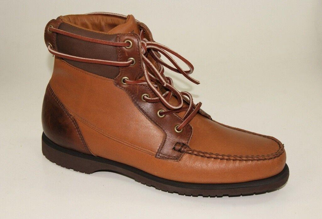 Sebago Artisan Collection Scout Boot Stiefel Schnürstiefel Herren Schuhe Edel