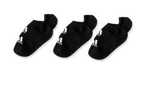 adidas Performance Invisible Socken 3 Paar Schwarz
