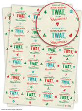 Funny Cheeky Rude Christmas Xmas Wrapping Paper Gift Wrap Novelty Comedy Humour