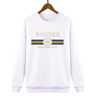 Aggressiv Boujee Sweatshirt Womens Mens Unisex Sweat Swag Hipster Fashion Slogan Cute Um Der Bequemlichkeit Des Volkes Zu Entsprechen