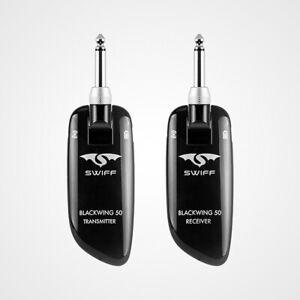 SWIFF-WS-50-UHF-Wireless-Guitar-Transmitter-Receiver-System-50M-Transmission