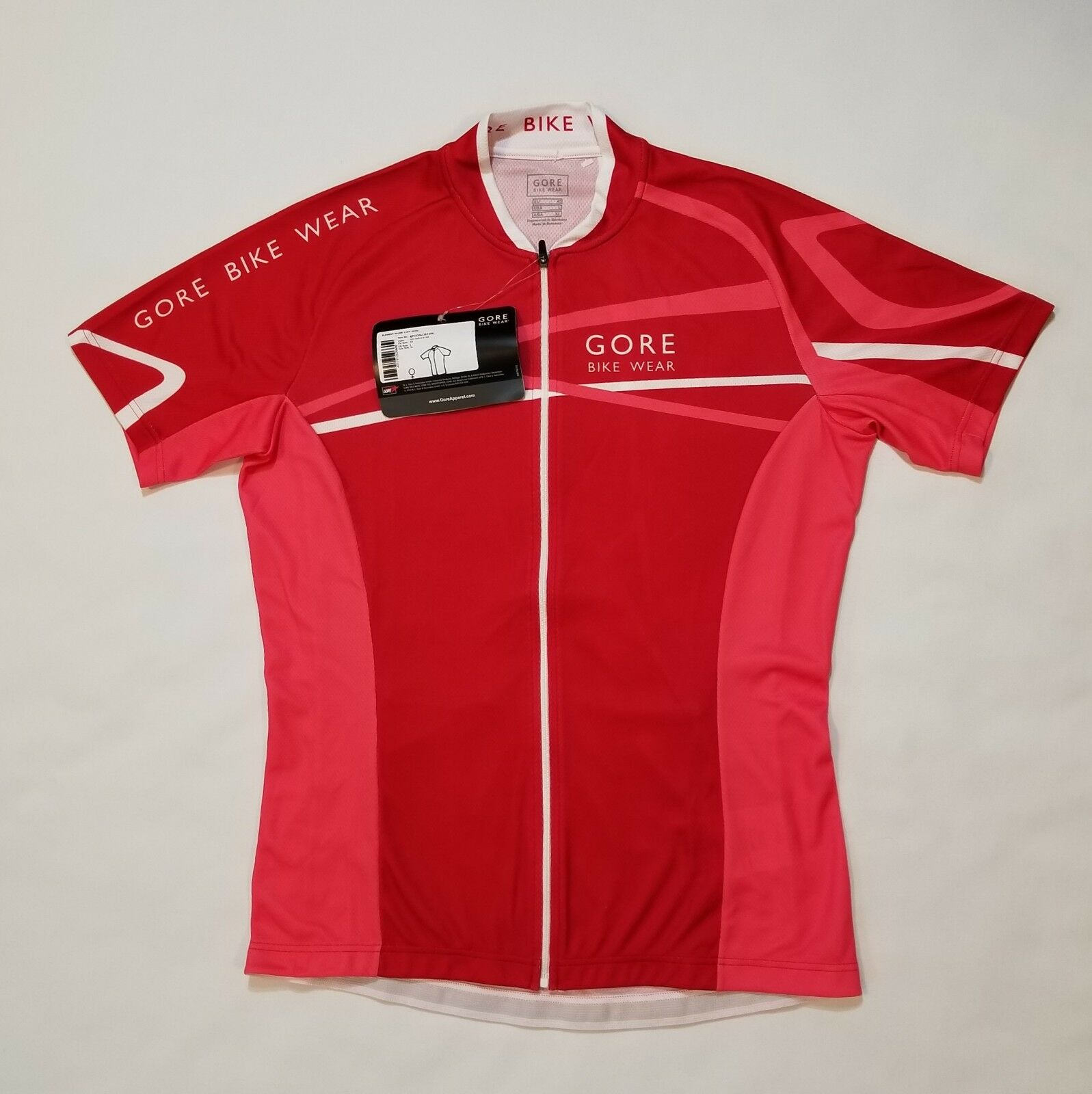 Gore Bike Wear Women's Element W-Line Short Sleeve Cycling Jersey Shirt Size XL