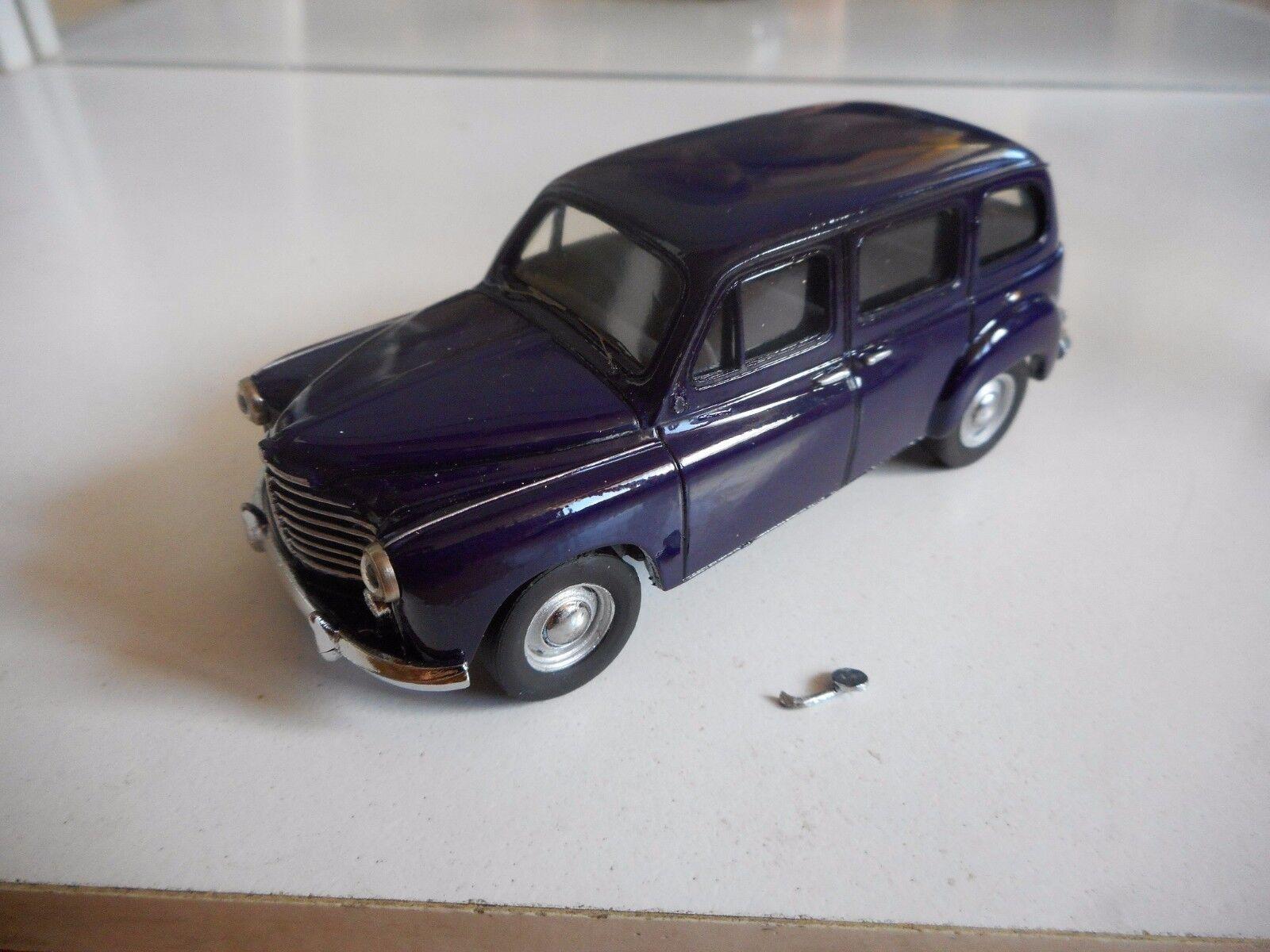 Hand built Model Kit Prestige Renault Prairi in viola on 1 43