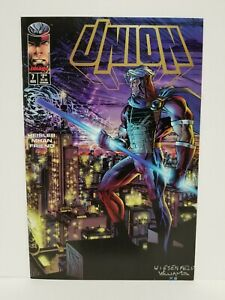 Union-7-Image-comics-August-1995-actual-pictures-NM-MN