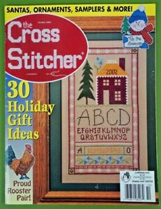 Cross-Stitcher-magazine-Oct-2002-cross-stitch-Christmas-Mill-Hill-amp-more-w-bonus