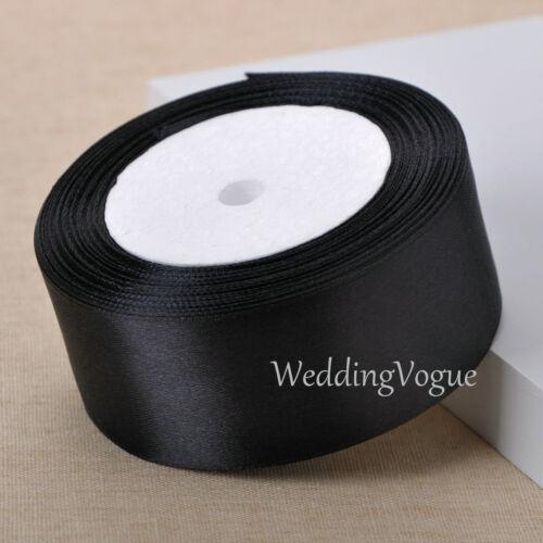 "25yards 38mm 1.5/"" Satin Ribbons Roll Box Bows Wedding Party DIY Craft Decoration"