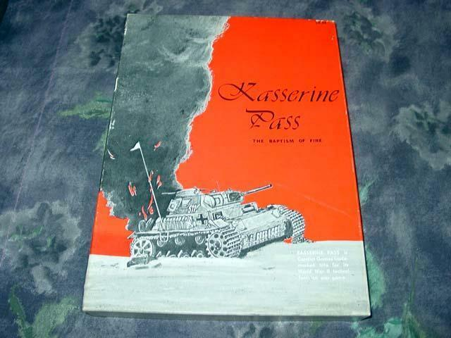 Conflict  giocos - KASSERINE PASS - The Baptism of Fire Afrika Partituttiy Unpunched  risparmia fino al 70%