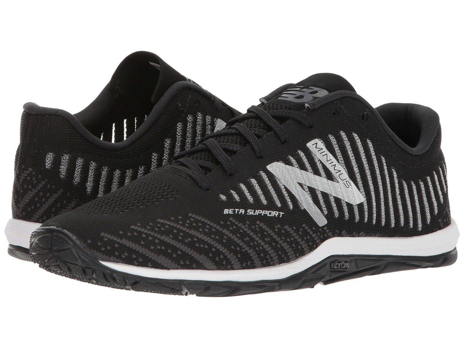 NEW Mens New Balance Minimus 20v7 Black White Magnet Cross Training shoes IN BOX