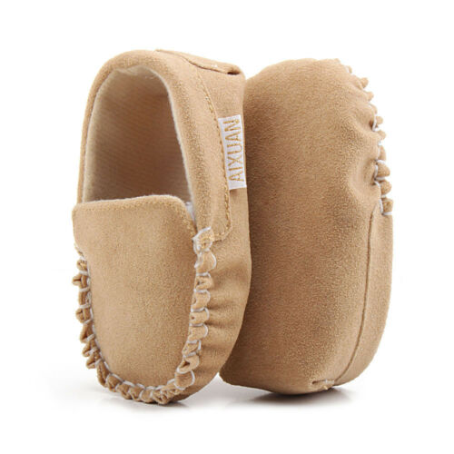 Nowborn Baby Girls Double Velour Soft Sole Shoe Soft Shoes Flats Shoes Sneaker