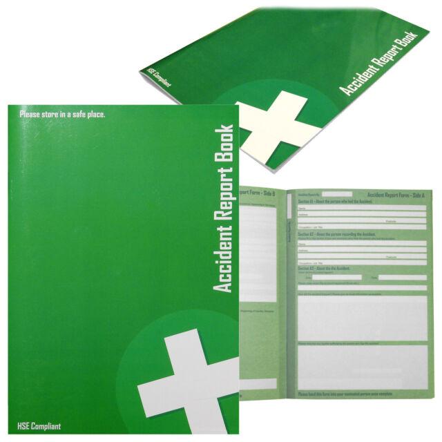 Qualicare Accident Record Book