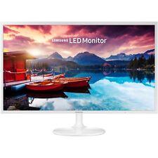 """Samsung - SF351 Series S32F351FUN 32"""" LED FHD Monitor - High glossy white"""