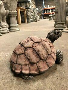 Large Garden Tortoise Home Garden Ornament Concrete Stone