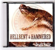 (GB122) Hellbent & Hammered, Death Rattle - 2013 CD