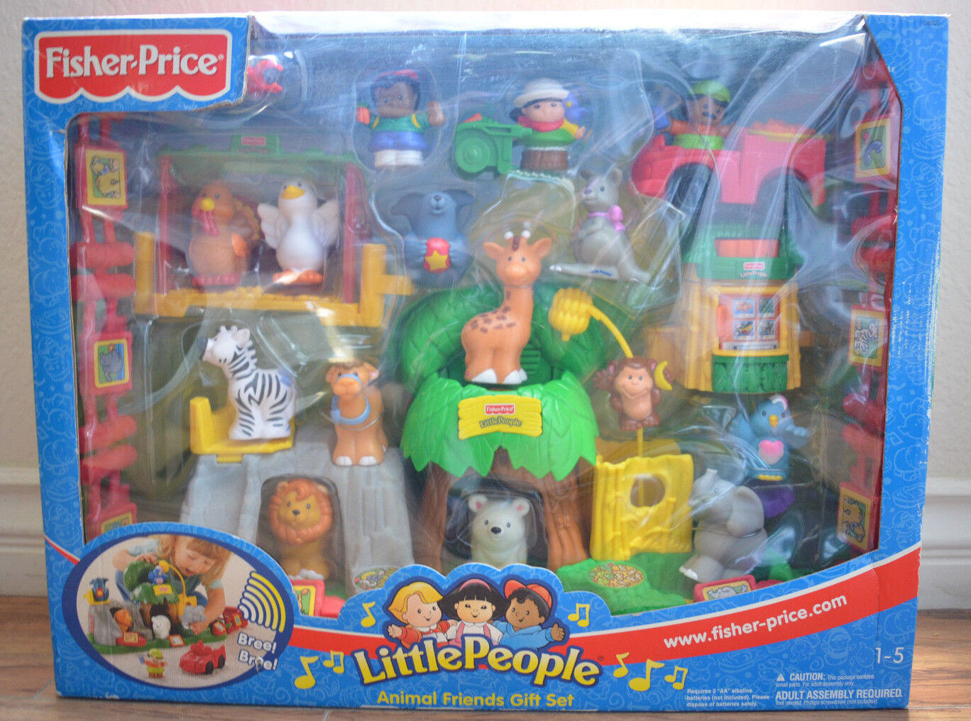 Fisher Price Price Price Little People Animal Friends Gift Set 3b8778