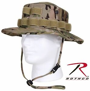 Image is loading MultiCam-Camouflage-Tactical-Operator-Cotton-Ripstop-Boonie -Hat- 1af17122309