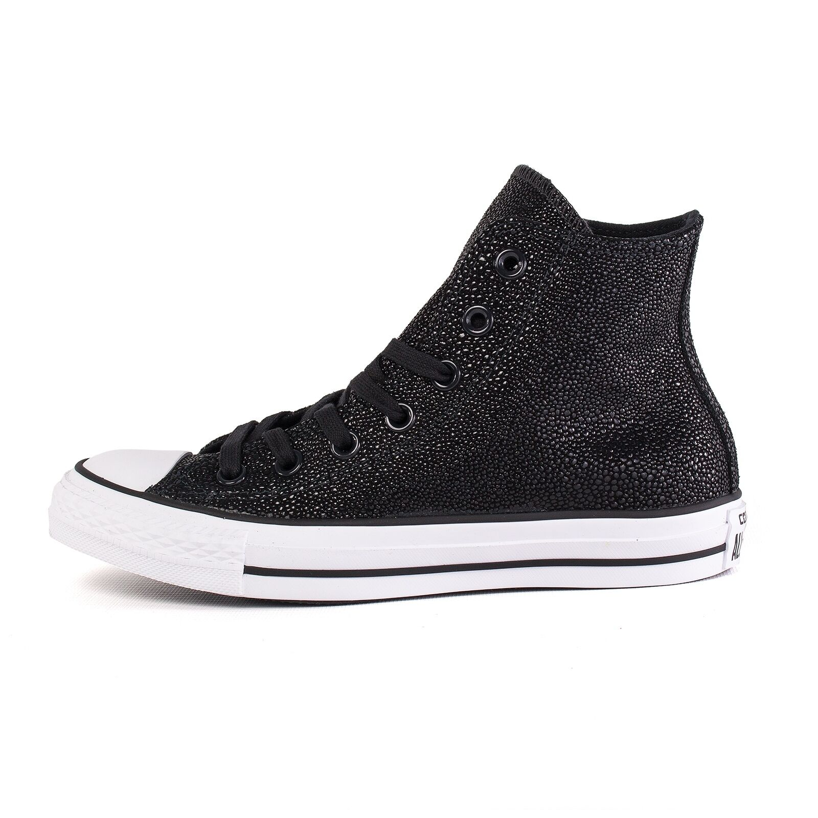 Converse All Star Chuck ctas Stingray mujer, metalizado Hi zapato de mujer, Stingray negro, 51163 743cb8