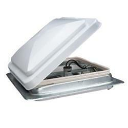 American-Motorhome-RV-Replacement-Hengs-Roof-Vent-With-Fan-White-14-034-x14-034-Cut-Out