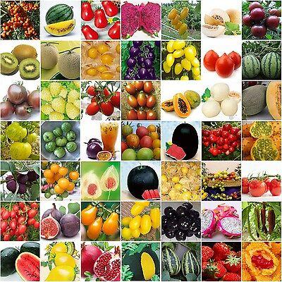 Varity Rare Seeds Heirloom Passion Fruit Papaya water melon cherry purple tomato