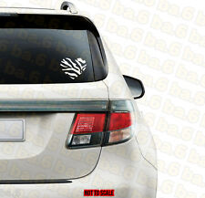 ZEBRA PRINT HEART Vinyl Sticker Decal for Car & Truck Windows Laptop Girly JDM