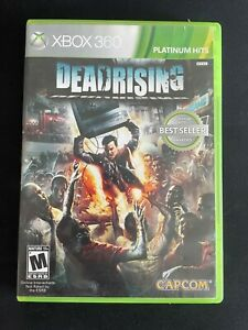 Dead Rising - Platinum Hits (Microsoft Xbox 360, 2006) Complete with Box