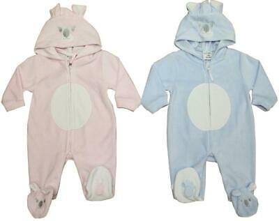 Baby Girl boys clothes all in one Koala suit grey babygrow 0-3 m 3-6 m 6-9months