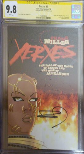 BxF Xerxes #1 CGC SS 9.8 signed By Frank Miller