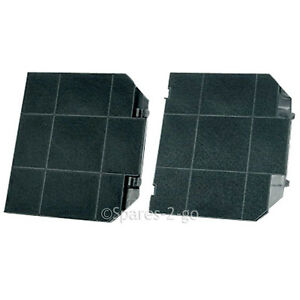 2-x-EFF72-Type-Carbon-Charcoal-Filter-for-JOHN-LEWIS-Cooker-Hood-Vent-Fan