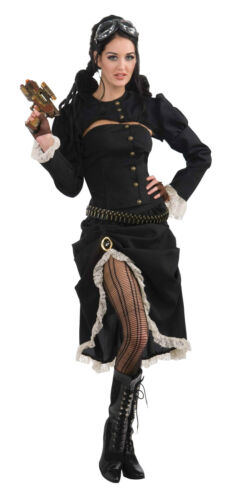 Steampunk Renegade Women/'s Fancy Dress Party Costume