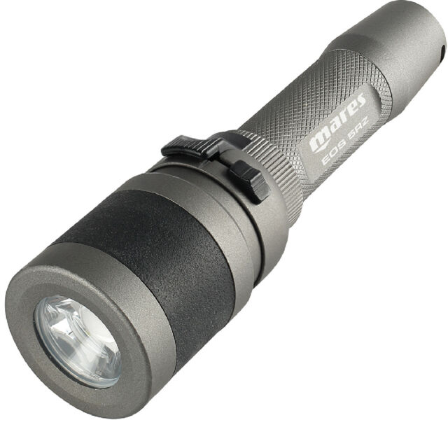 LO3 MARES Lampada EOS 5RZ metal LED torch rechargeable 503 Lumen !!!
