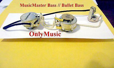 [EQHS_1162]  COMPATIBLE WITH FENDER MUSICMASTER BASS REPRO VINTAGE WIRING HARNESS | eBay | Fender Musicmaster Bass Guitar Wiring Diagram |  | eBay