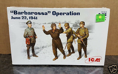 "ICM #35391 ""Barbarossa"" Operation June 22, 1941 1/35 Scale Military Kit"