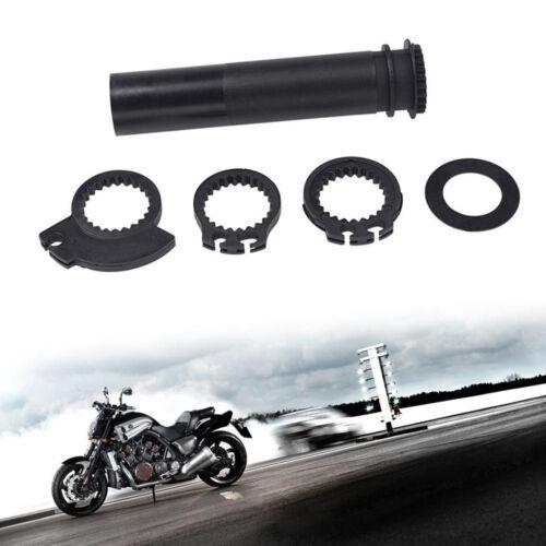 "1Set 7//8/"" Motorcycle Handlebar Grip Twist Throttle Accelerator Sleeve Tube Black"