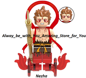 New Lego Custom Nezha Son of The God Collection Journey to The West Movie Figure