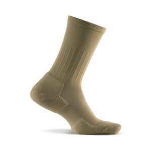 873fe1965073 2 pr Men's Medium THORLO Experia Khaki Dress Crew Socks xdxm11shoe ...