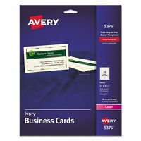 Avery Business Cards - Ave5376