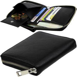 ESPRIT-Herren-Geldbeutel-Reissverschluss-Geldboerse-Brieftasche-Portemonnaie-klein