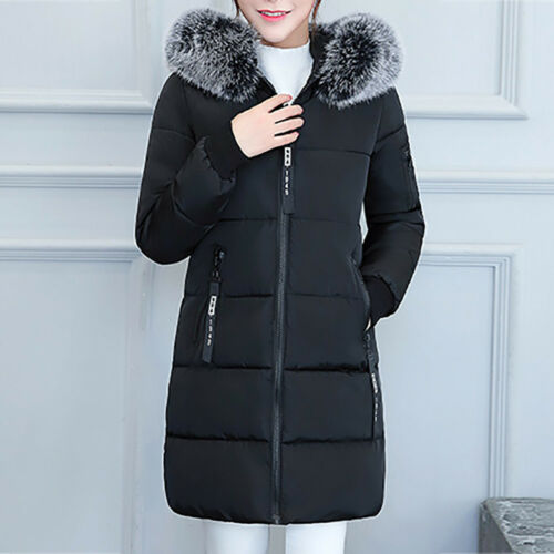 Womens Winter Jacket Warm Overcoat Slim Thicker Long Coat Parka Lammy Outwear