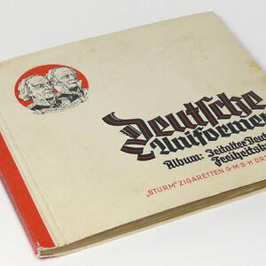 German-Uniforms-Freedom-Wars-1813-1815-w-240-tobacco-cards-Cigarette-Album-Book