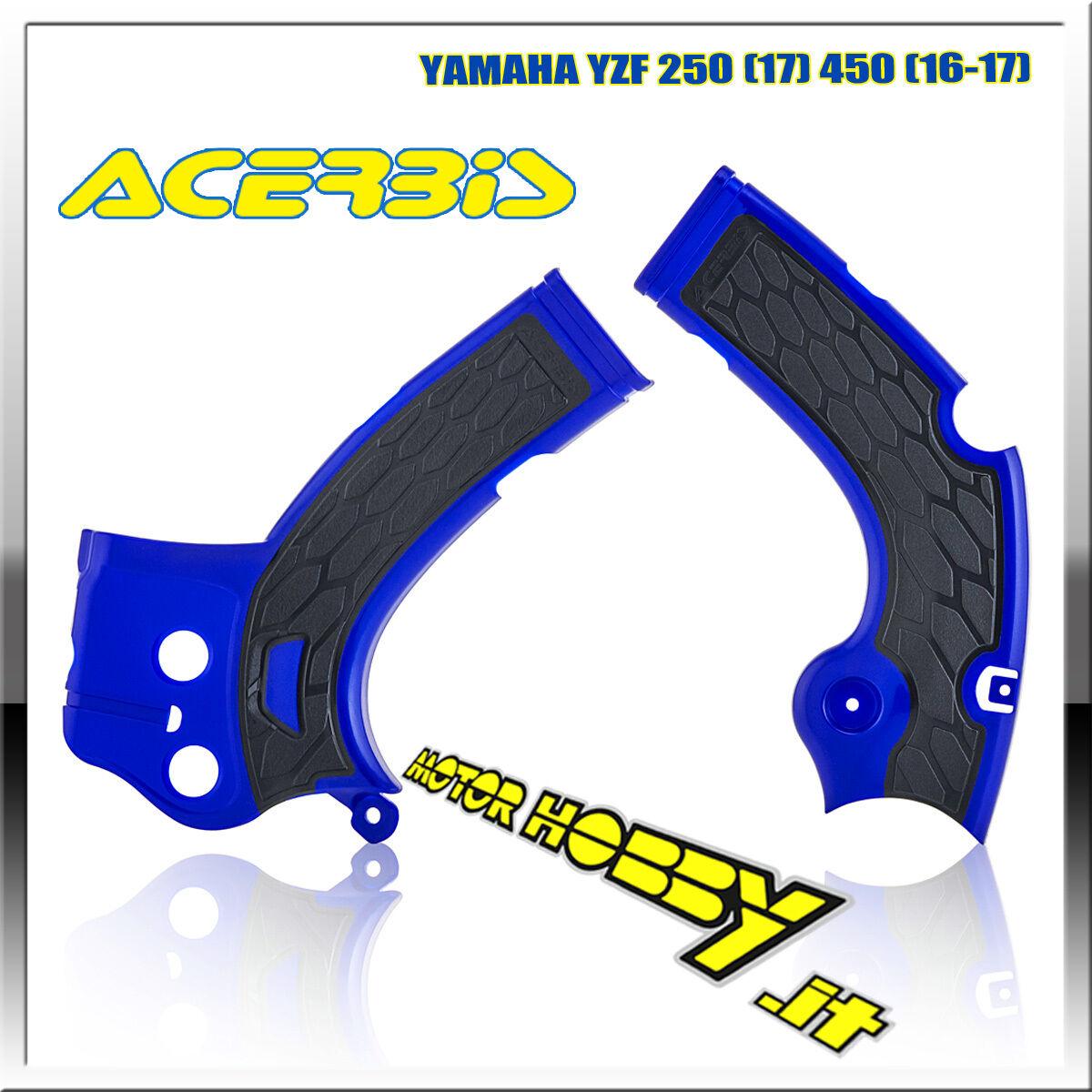 Bianco//Nero ACERBIS PROTEZIONE QUADRO X-Grip Yamaha YZF 250//450 WRF 250//450