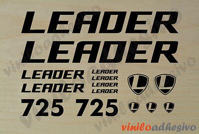Disciplinato Pegatina Vinilo Sticker Leader 725 Bicicleta Bike Autocollant Aufkleber Fornire Servizi Per Le Persone; Rendere La Vita Più Facile Per La Popolazione
