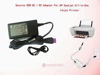 Hp Deskjet 1010 1510 1512 2540 2542 2544 2620 Printer 0957-2385 Ac Power Adapter