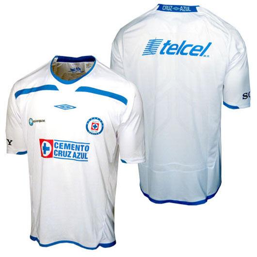 Nuevo con etiquetas-Umbro Cruz Azul MEXICO Fútbol Fútbol Jersey Camisa de fútbol Top  para hombre Talla XL
