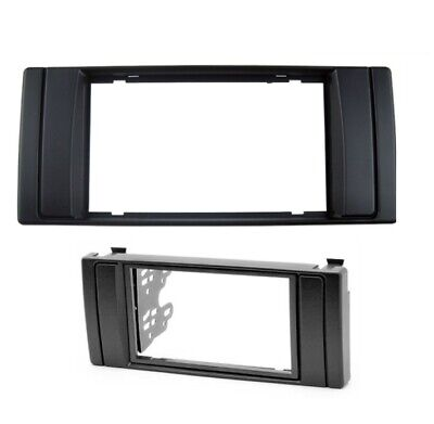 FP-06-05 CD radio panneau avant fascia panel Surround Fitting Kit Fits BMW Mini 01-06