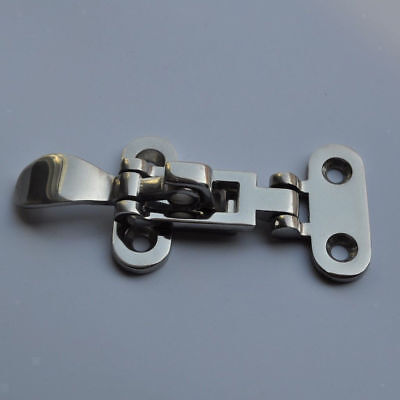 "Newly 2PCS Boat  Locker Hatch Latch Fastener 316 Stainless Steel 4-3//8/"" For Sale"