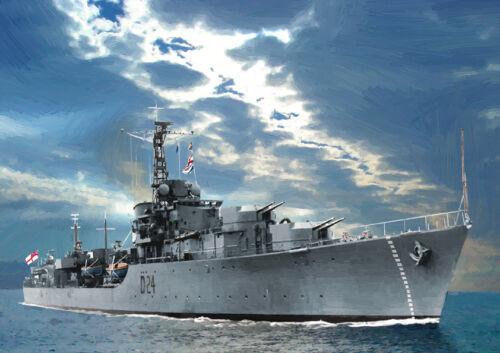 HMS Gravelines-Edición Limitada Arte 25