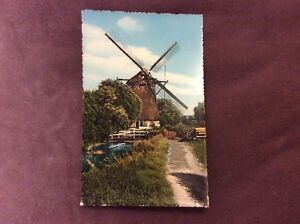 Vintage-Postcard-The-Hague-Schenkmolen-Unused