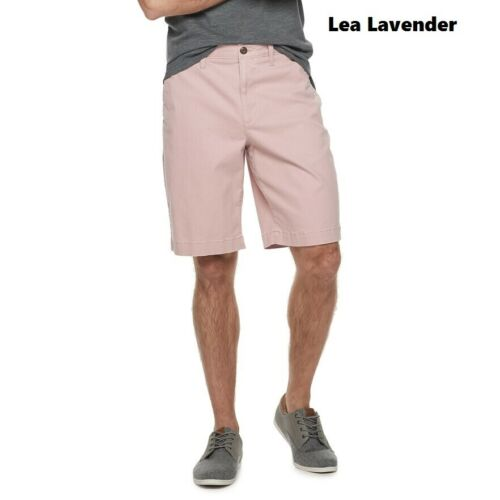 NEW Men/'s SONOMA FlexWear Chino Shorts Flat size 30 34 38 40