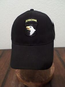 U.S.MILITARY ARMY 101ST AIRBORNE DIVISION HAT BALL CAP SCREAMING ... 32ef7bbed77d